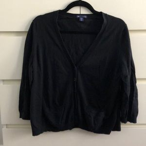 GAP black cardigan